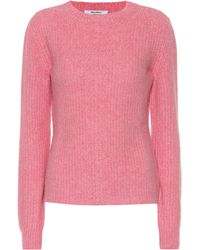 55e100faf0 Max Mara - Moena Camel Wool-blend Sweater - Lyst