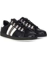 Balmain - Esther Sequinned Trainers - Lyst