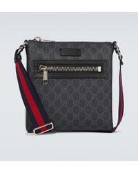 Gucci Messenger Bag GG Supreme - Schwarz