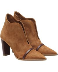 Malone Souliers Ankle Boots Clara 85 - Braun