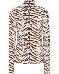M.i.h Jeans - Tiger Turtleneck Top - Lyst