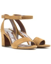 Tabitha Simmons - Leticia 75 Suede Sandals - Lyst