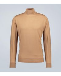 John Smedley Jersey Richards de lana cuello alto - Multicolor