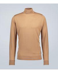 John Smedley Richards Wool Turtleneck Sweater - Multicolor