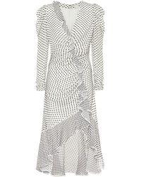 Jonathan Simkhai Kleid aus einem Seidengemisch - Weiß
