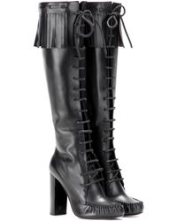 Tom Ford - Santa Fe Leather Knee-High Boots - Lyst