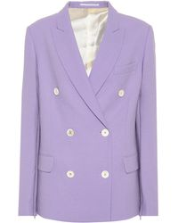 Golden Goose Deluxe Brand - Misam Virgin Wool Crêpe Jacket - Lyst
