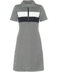 Tory Sport Jacquard Knit Minidress - Blue