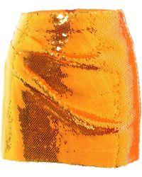 Alex Perry Mini-jupe Riley à sequins - Orange