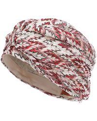 Missoni Gestrickter Turban - Pink