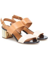 Tory Burch Gigi Leather Sandals - Multicolor