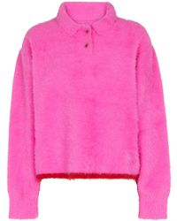 Jacquemus Pullover Neve - Rosa