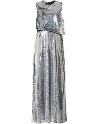 Stella McCartney Vestido de fiesta con lentejuelas - Metálico