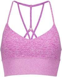 Alo Yoga Lavish Sports Bra - Purple