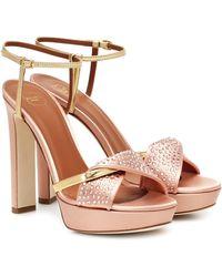 Malone Souliers Lauren Crystal Ms 125 Sandals - Multicolor