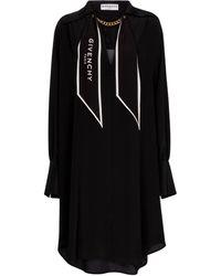 Givenchy Robe en crêpe de soie - Noir