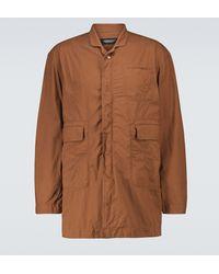 Undercover Multi-pocket Car Coat - Brown