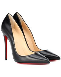 Christian Louboutin Pumps So Kate 120 in vernice - Nero