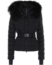 3 MONCLER GRENOBLE Beverley Fur-trimmed Ski Jacket - Black