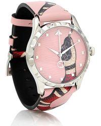 Gucci Uhr Le Marché Des Merveilles - Pink