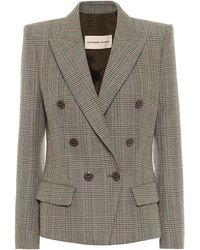 Alexandre Vauthier - Blazer in lana principe di Galles - Lyst