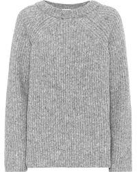 Helmut Lang Ghost Wool-blend Sweater - Gray