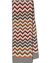 Missoni Écharpe en laine mélangée - Multicolore