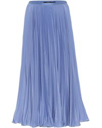 Polo Ralph Lauren Jupe midi - Bleu