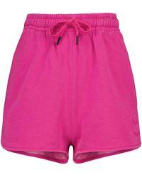 Étoile Isabel Marant Shorts Mifikia mezcla de punto algodón - Rosa