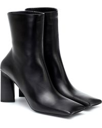 Balenciaga - Moon Leather Ankle Boots - Lyst