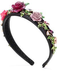 Dolce & Gabbana - Embellished Headband - Lyst