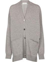 Extreme Cashmere Cardigan N° 24 Tokio - Grau