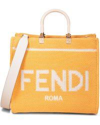 Fendi Shopper Sunshine Medium - Gelb