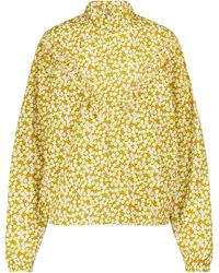 Tory Sport Floral Track Jacket - Yellow
