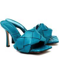 Bottega Veneta LIDO SANDALS - Blau