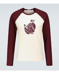 Lanvin Long-sleeved Raglan T-shirt - Multicolor