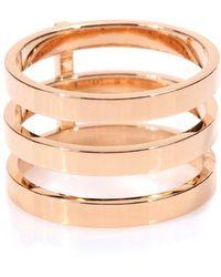 Repossi Anello Berbere in oro rosa 18kt - Metallizzato