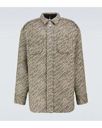 OAMC Ernest Wool-blend Overshirt - Black