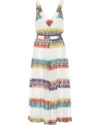 Missoni - Striped Crochet Dress - Lyst