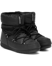 Moon Boot Low Nylon Wp 2 Snow Boots - Black