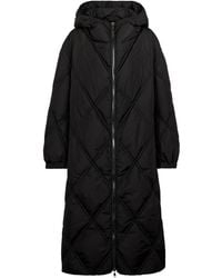 Dorothee Schumacher Cosy Coolness Hooded Quilted Down Coat - Black