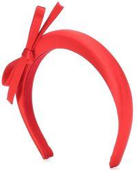 Prada Cerchietto in raso - Rosso