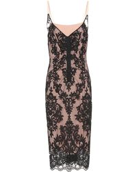 N°21 Scalloped Lace Dress - Black