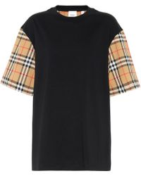 Burberry Vintage Check T-shirt - Black