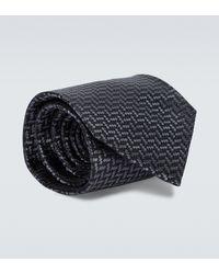 Tom Ford Printed Silk Tie - Multicolour