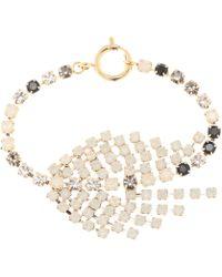 Isabel Marant - Aless Crystal Bracelet - Lyst