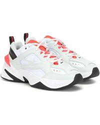 Nike Sneakers M2K Tekno aus Leder - Weiß