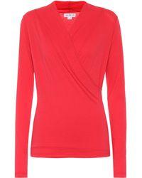 Velvet - Meri Stretch Cotton Jersey Top - Lyst
