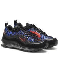 Nike Sneakers Air Max 98 Premium - Schwarz