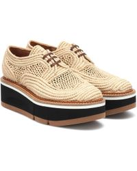Clergerie Lace-up Shoe - Natural